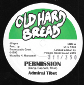 Admiral Tibet - Permission / Sixth Commandment Dub / Version (Old Hard Bread) 12""